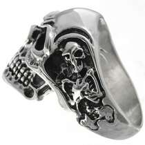 Sterling Mens Ring 26024