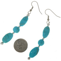 Kingman Turquoise Earrings 28303