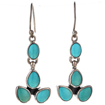 Turquoise French Hook Earrings 11515