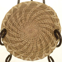 Papago Indian Swirl Basket 26080