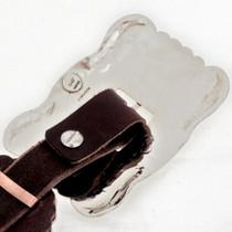 Hand Hammered Navajo Concho Belt 15793