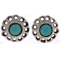 Native Turquoise Earrings 25490