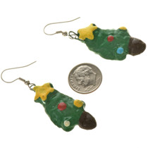 Christmas Tree French Hook Earrings 11150