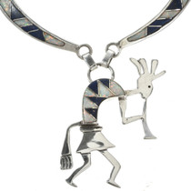 Kokopelli Kachina Necklace 15178