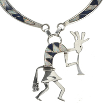 Kokopelli Kachina Necklace 15178