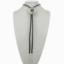 Turquoise Sterling  Bolo Tie 24821