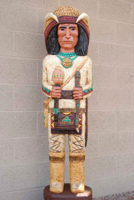 Medicine Man Cigar Store Indian 18687