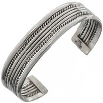 Native American Silver Bracelet 12730