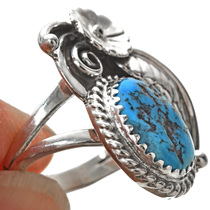Navajo Turquoise Ladies Ring 24398