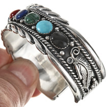 Navajo Traditional Row Bracelet 29052