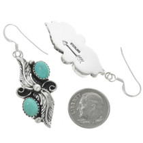 Navajo Silver French Hook Earrings 25868