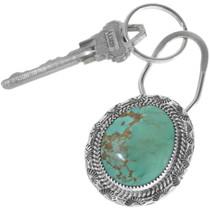 Genuine Turquoise Navajo Key Ring 12942