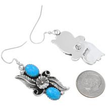 Navajo Turquoise Dangle Earrings 26662