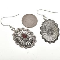 Navajo Gemstone Earrings 28939