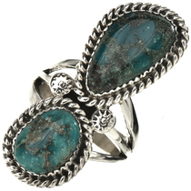 Genuine Bisbee Turquoise Ladies Ring 28566