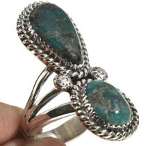 Navajo Turquoise Pointer Ring 28566