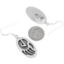 Sterling Silver Bear Claw Earrings 28908