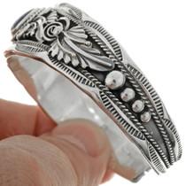Southwest Navajo Gemstone Silver Bracelet 16250