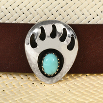 Navajo Turquoise Hatband 23103
