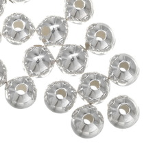 7mm Sterling Silver Seamless Beads 34716