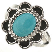 Navajo Turquoise Ladies Ring 28667