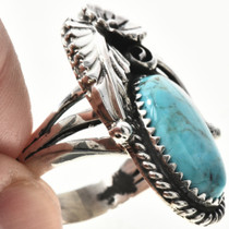 Ladies Kingman Turquoise Ring 29220