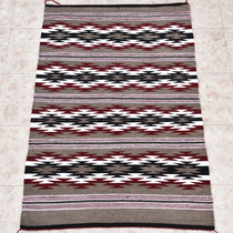 Navajo Chinle Wool Rug Ganado Colors 29296
