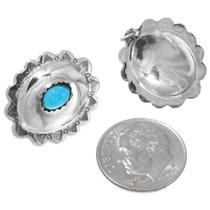 Silver Concho Earrings 22395