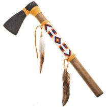 Indian Buckskin Tomahawk 25572