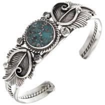 Birdseye Turquoise Navajo Ladies Bracelet 23889