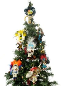 Kachina Doll Christmas Ornaments 23851