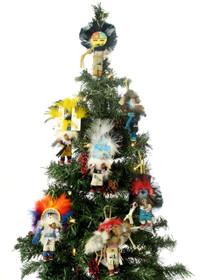 Kachina Doll Christmas Ornaments 23851