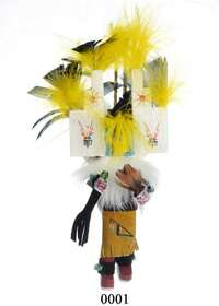 First Mesa Kachina Doll Christmas Ornaments 23851