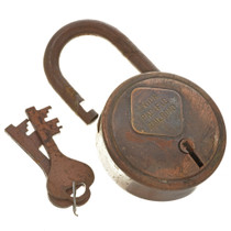 Replica Union Pacific RR Padlock & Keys 15373