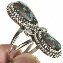 Ladies Turquoise Pointer Ring 28516