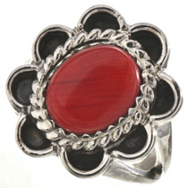 Oxblood Coral Ladies Ring 28660