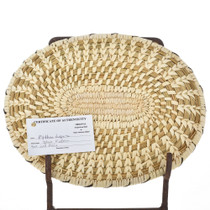 Papago Indian Oval Basket 22145