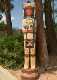 Cigar Store Indian 24019