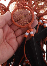 Dusty Copper Dreamcatcher 25376