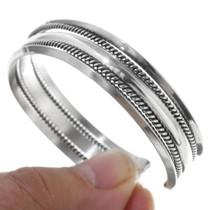 Twist Wire Smooth High Shine Bracelet 28346