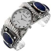 Big Boy Navajo Silver Watch 23454