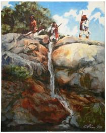 Apache Indian Guardians Canvas Print 16375