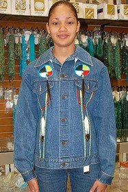 Native American Denim Jacket 10500