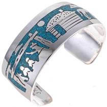 Turquoise Storyteller Bracelet 13232