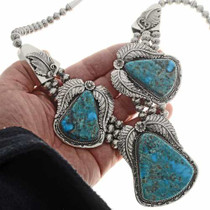 Ithaca Peak Turquoise Necklace Set 25700