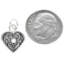 Sterling Silver Heart Locket Charm Bracelet Pendant Necklace