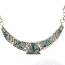 Hinged Turquoise Necklace15161