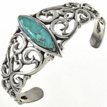 Turquoise Silver Ladies Bracelet 29219