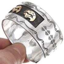 Gold Overlaid Southwest Bracelet 28609