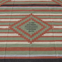 Indian Dhurrie Wool Rug 25130